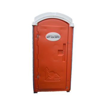 Larry's Latrines Enhanced Flushing Unit Exterior